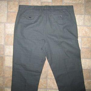 Micro Plaid Vintage Straight Pants